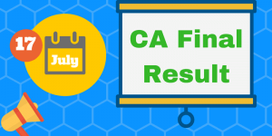 CA Final Result May 2017 | CA Results | News | Update