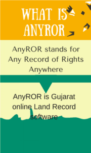Anywhere Land Records Online of Gujarat