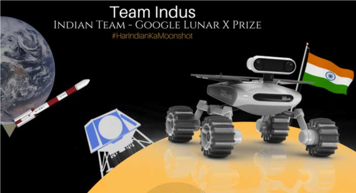 Team Indus Rover ECA for Google Lunar XPRIZE