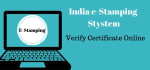 shcilestamp e-Stamping Verify e-stamp Certificate online shcilestamp-com